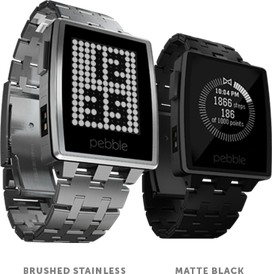 Pebble Watch Steel 401S / 401SS