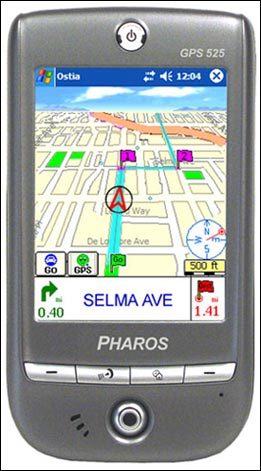 Pharos Traveler GPS 525  (HTC Galaxy 100)