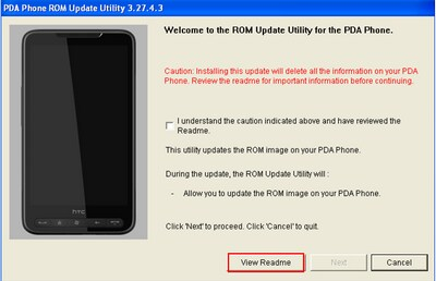 HTC HD2 ROM Upgrade 3.14.405.2