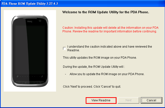 HTC Touch Pro2 Windows Mobile 6.5 HTC Sense ROM Upgrade 2.07.401.1