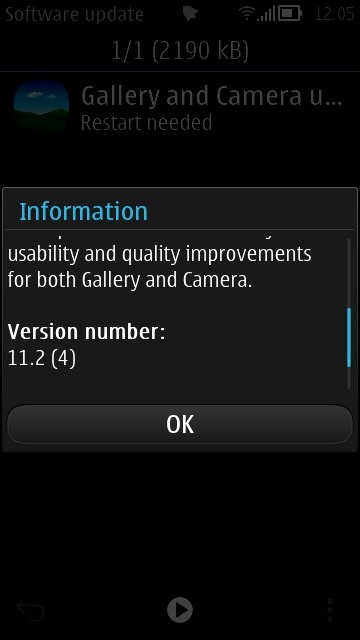 Nokia 808 PureView Maintenance OTA Update 11.2