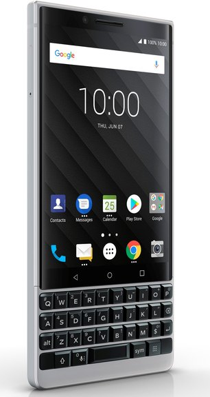 RIM BlackBerry KEY2 BBF100-8 Dual SIM TD-LTE JP 64GB  (TCL Athena) Detailed Tech Specs