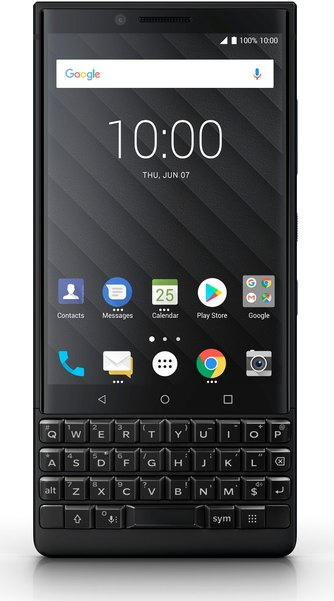 RIM BlackBerry KEY2 BBF100-2 TD-LTE AM 128GB  (TCL Athena)