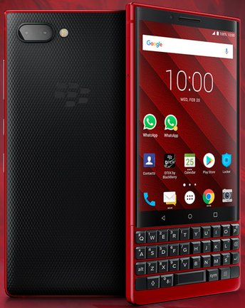 RIM BlackBerry KEY2 Red Edition BBF100-1 TD-LTE EU AU JP 128GB  (TCL Athena) Detailed Tech Specs