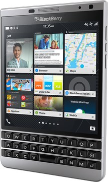 RIM BlackBerry Passport Silver Edition LTE SQW100-4  (RIM Dallas)