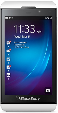 Verizon BlackBerry Z10 CDMA STL100-4  (RIM Laguna)