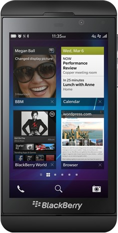 RIM BlackBerry Z10 3G STL100-1  (RIM London)