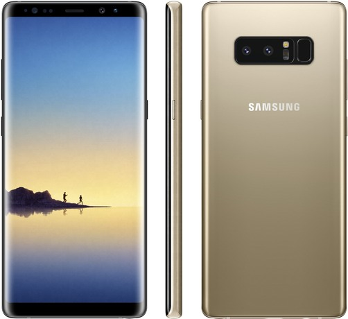 Samsung SM-N9500 Galaxy Note 8 Duos TD-LTE 64GB  (Samsung Baikal) Detailed Tech Specs