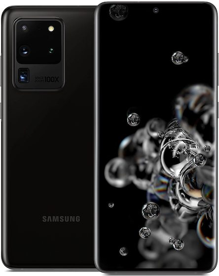 Samsung SM-G988U Galaxy S20 Ultra 5G TD-LTE US 512GB / SM-G988A  (Samsung Hubble 2 5G) Detailed Tech Specs
