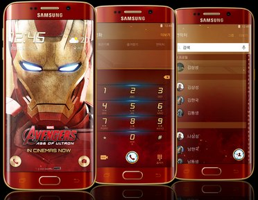 Samsung SM-G925S Galaxy S6 Edge Iron Man Limited Edition LTE-A  (Samsung Zero)