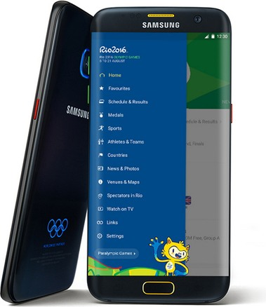 Samsung SM-G935J Galaxy S7 Edge Olympic Games Edition WiMAX 2+ SCV33  (Samsung Hero 2)