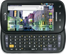 Samsung SPH-D700 Galaxy S Epic 4G Detailed Tech Specs
