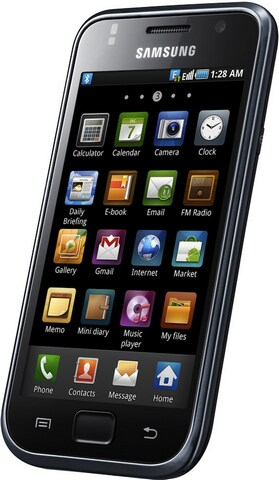 Samsung GT-i9000 Galaxy S 16GB Detailed Tech Specs