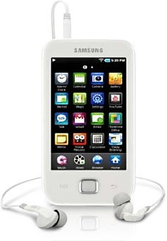 Samsung YP-G50EW Galaxy Player 50 16GB