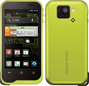 sharp aquos st sh-07d