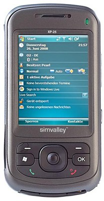 Simvalley Mobile Smartphone XP-25