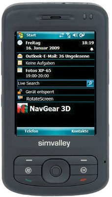 Simvalley Mobile Smartphone XP-65