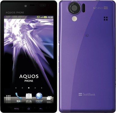 SoftBank Sharp Aquos 102SH