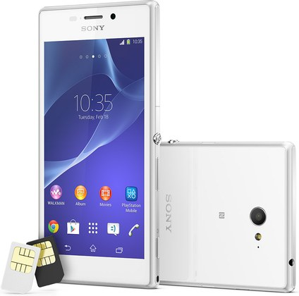 Sony Xperia M2 dual D2302 S50h  (Sony Eagle DS)