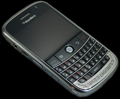 Stuart Hughes BlackBerry Bold 9000 Diamond Vintage