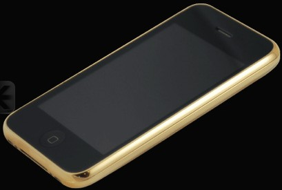 Stuart Hughes iPhone 3GS 22ct Solid Gold  (Apple iPhone 2,1)