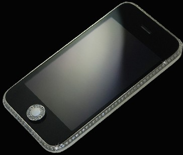 Stuart Hughes iPhone 3GS Diamond & Platinum  (Apple iPhone 2,1)