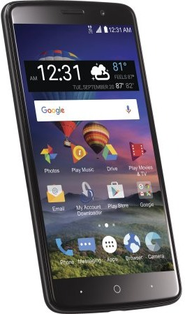 ZTE Z986DL Max Blue 4G LTE-A Detailed Tech Specs