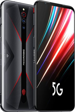 ZTE Nubia Red Magic 5G Standard Edition Dual SIM TD-LTE CN 128GB NX659J  (ZTE Super Device)